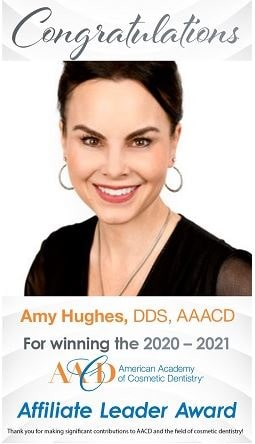 Affiliate Leader Award | Amy Hughes, DDS, AAACD