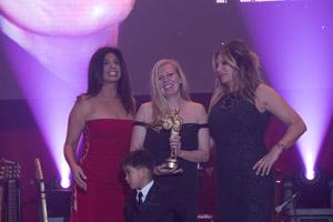 Evy Award presentation in Toronto