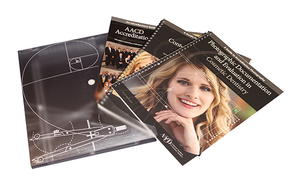 Best Value! Bundles Set of AACD Accreditation Guides + Protective Portfolio