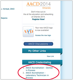AACD Submit Your Case Step 2