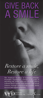 Give Back a Smile Brochure